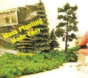 "FOLIAGE MAT 7X8"" for mass ground planting FLEXIBLE FM-EMG"