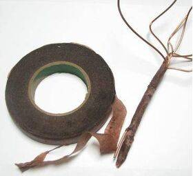 """TREE WIRE BROWN WRAP 1/2"""" wide 3-3/8"""" dia."""