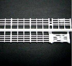 "FENCE-HORIZ HO/1:100 5.5"" 4PC-FEN-2"