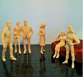 FIGURES SUPER PEOPLE 1:24 PES-24SP