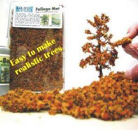"FOLIAGE MAT (for trees) 7X8"" FLEXIBLE AUTUMN FM-AM"