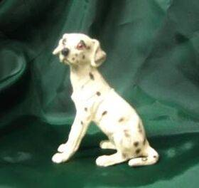 DOG-SPOTTED POINTER 1:12 1PC