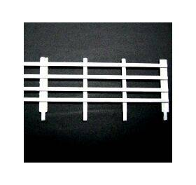 FENCE-HORIZ 1:48 O gauge 5'' 8PC FEN-4