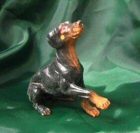 DOG-DOBERMAN 1:12 1PC