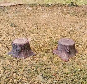 "TREE-STUMPS 7/16""dia. 4pc STUMP-48"
