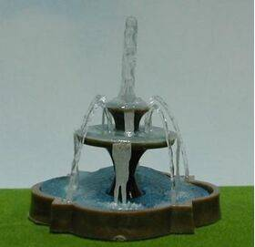 FOUNTAIN 2-3/8'' SQUARE/CLOVER
