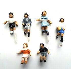 FIGURES-PAINTED 1:48 CHILDREN 6PC