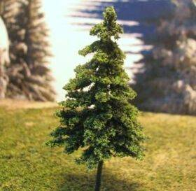 TREE-GREEN SPRUCE 3'' 6pc TSP-3G