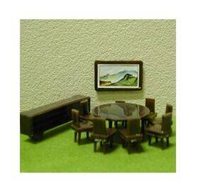 DININGROOM SET 1:48 11PC