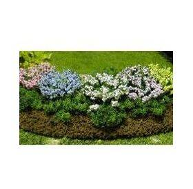 GARDEN DELIGHTS W/BED Yellow-Violet-White