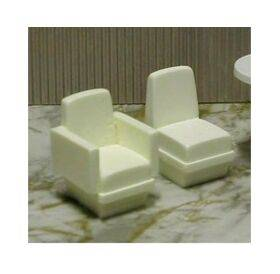 CHAIR SOLID ARM CHAIR 1:24 1PC