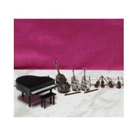 PIANO & ORCHESTRA SET 1:48 8PC