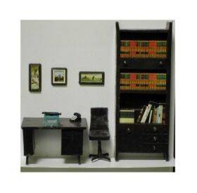 OFFICE FURNITURE SET 1:24 5PC