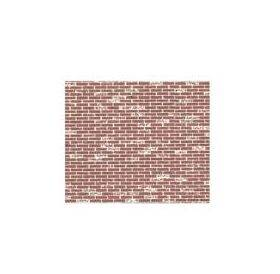 PAPER-DARK RED BRICK 1:100-HO 2PC-PSP-98