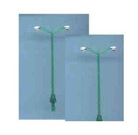STREET LAMP-DOUBLE 1:48 2PC