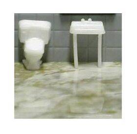 TOILET & SINK 1:100 1SET