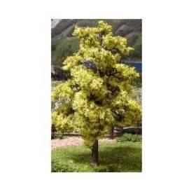 TREE-PREMADE 8'' BRIGHT GREEN 2PC