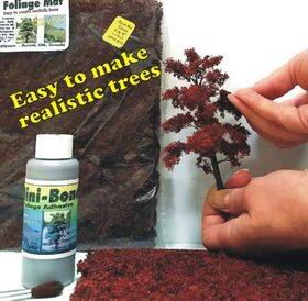 """FOLIAGE MAT (for trees) 7X8"""" FLEXIBLE RED MAPLE FM-RM"""