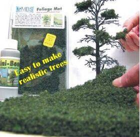 "FOLIAGE MAT (for trees) 7X8"" FLEXIBLE FM-FDG"