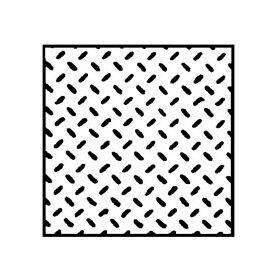 "TREAD PLATE-DIAMOND 7X12"" 1:100 2PC"