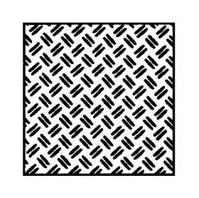 "TREAD PLATE-DOUBLE DIAMOND 7x12"" 1:24 2PC"