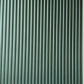 PATT SHT 7X12''VERTICAL RIB SIDING 1:100 HO GREY-VSR-8CG-shown metallic