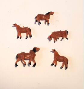 HORSES 1:160 N 5PC