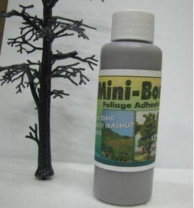 MINI-BOND GLUE 56ml (2oz) BROWN MB-2B