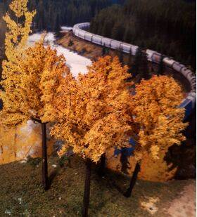 """PRE-MADE TREES 3""""  6PC TD80AM"""