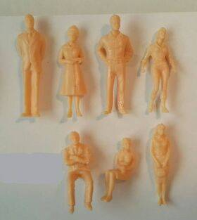 FIGURES SUPER PEOPLE 10pc 1:48 PES-48SP