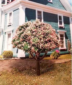 TREE-PREMADE 2''Cherry Blossom 4pc