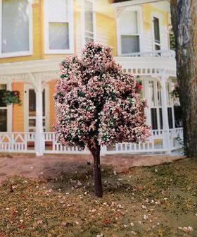 "TREE-PREMADE 2"" Cherry-Blossom 6pc"