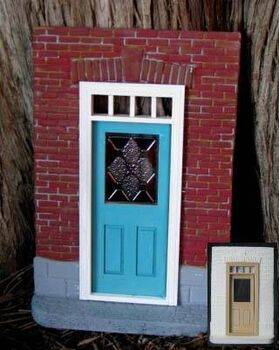 Fairy House Kit Brick with window door