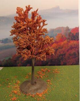 TREE-PREMADE 6.5'' AUTUMN RUST 2PC