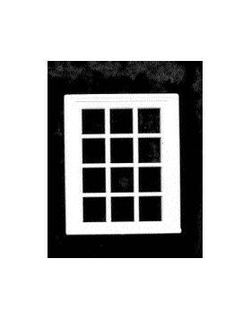 VICTORIAN WINDOW 12 PANE WINDOW 1:24