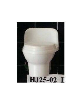 TOILET 1:24 LOW BACK 1PC HJ25-02