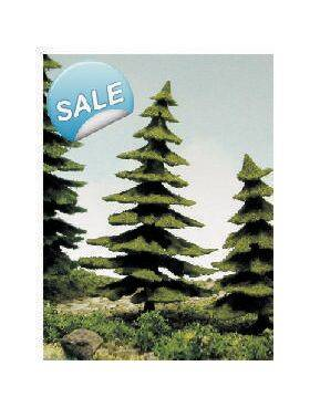 "TREE-PINE 3-1/2"" tall(9CM) 3PC PINE-9"