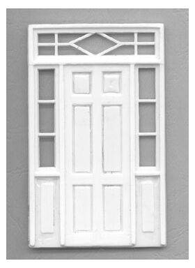DOOR W/SIDE PANELS 1:48 O gauge DOOR-501