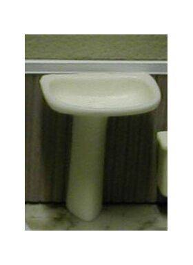 SINK-PEDESTAL 1:24 WHITE 1PC