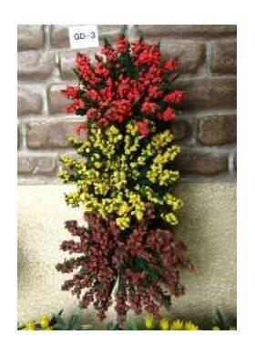 GARDEN DELIGHTS Red-Marigold-Burgundy 6PC