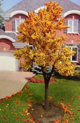 TREE-PREMADE 6.5'' AUTUMN GOLD 2PC