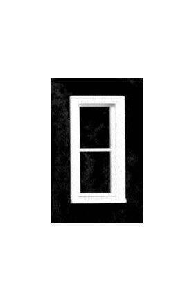 VICTORIAN SLIM WINDOW 2 PANE WINDOW 1:24