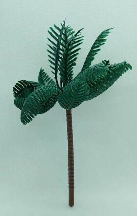 TREE-PALM 5.5'' 150mm TALL PLASTIC 10pc