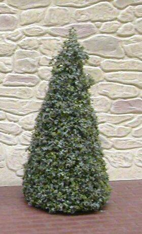 TREE-3.5'' TALL EVERGREEN/SPRUCE 2PC