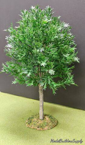 TREE-PREMADE 8'' FORST.GREEN 2PC