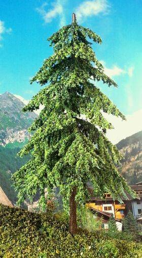 "TREE FIR CONIFEROUS 6"" TALL 2pc TFIR-17"