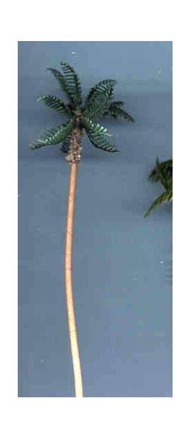 """TREE-PALM 5"""" TALL PLASTIC 2PC"""
